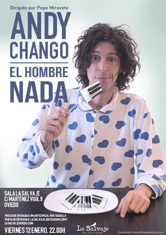Andy Chango en Oviedo