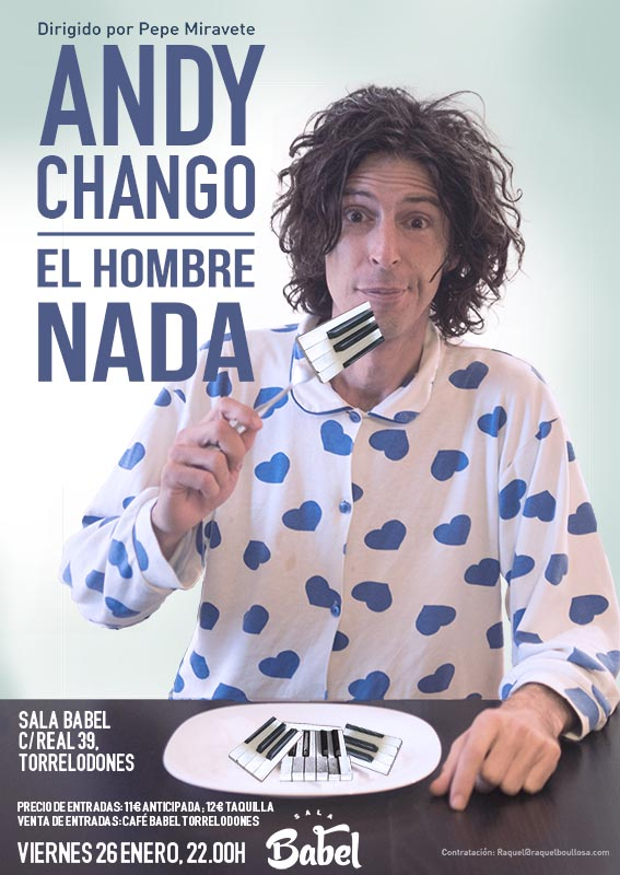 Andy Chango en Torrelodones