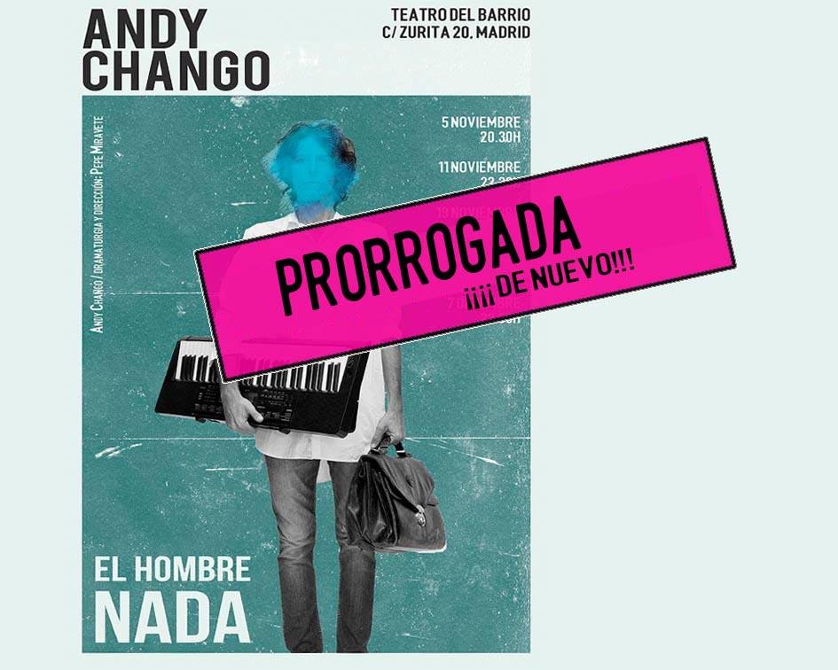 Andy Chango en el Teatro del Barrio