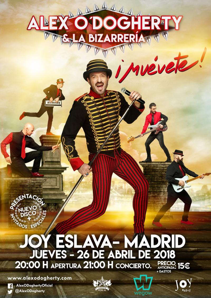 Concierto Alex O´Dogherty Madrid