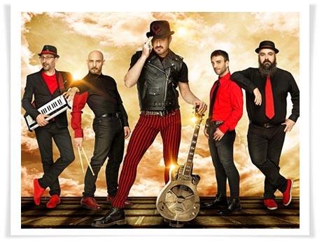 Alex O´Dogherty & La Bizarrería te invitan a bailar con su nuevo disco 'MUÉVETE' en Alcalá de Henares