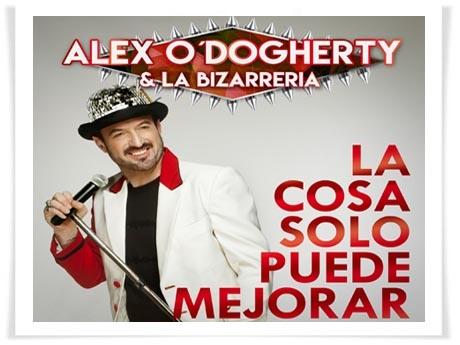 """Alex O'Dogherty & La Bizarrería presentan """"La cosa solo puede mejorar"""", el segundo single de su nuevo álbum"""