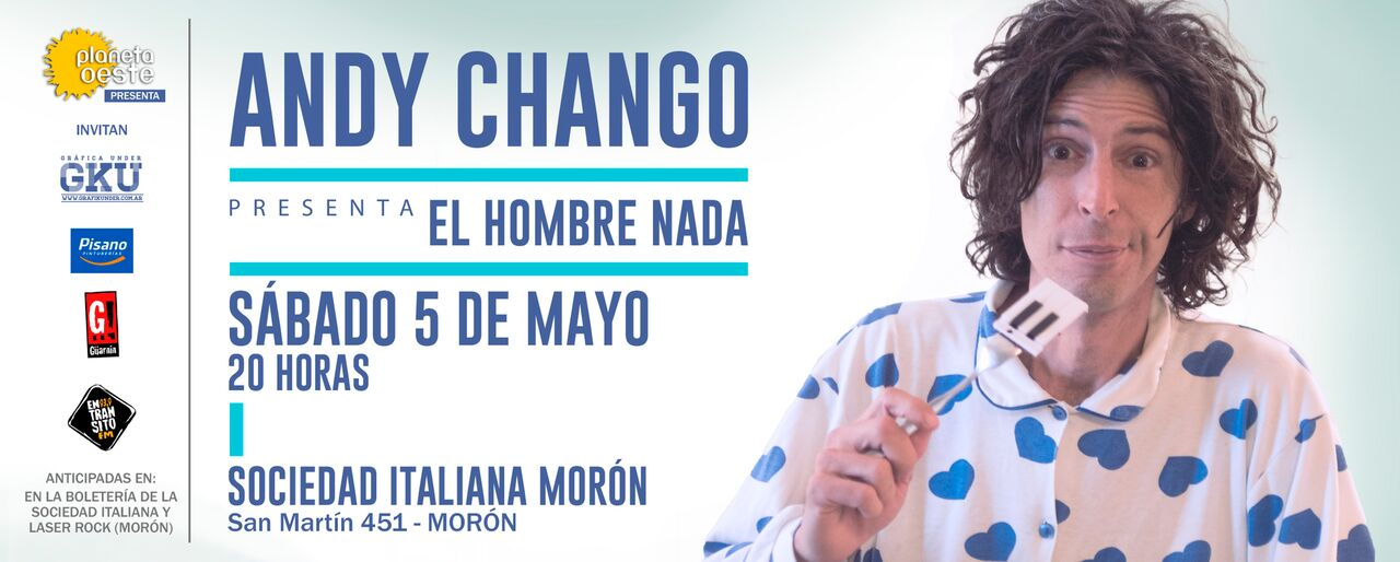 Andy Chango en Morón