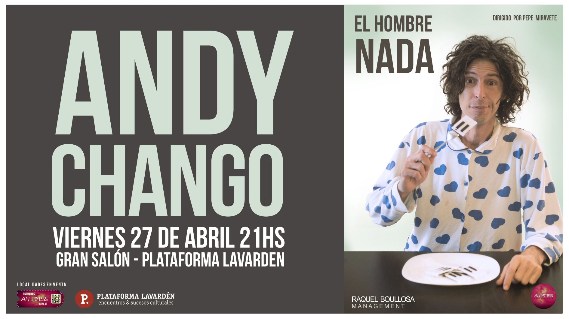 Andy Chango en Rosario