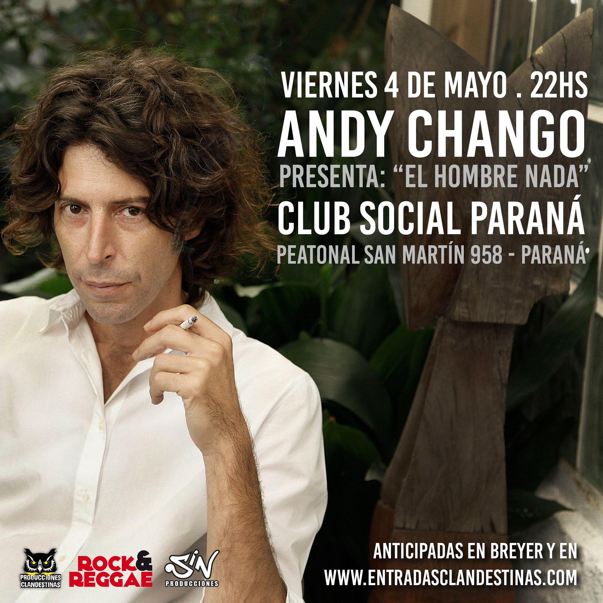 Andy Chango en Paraná