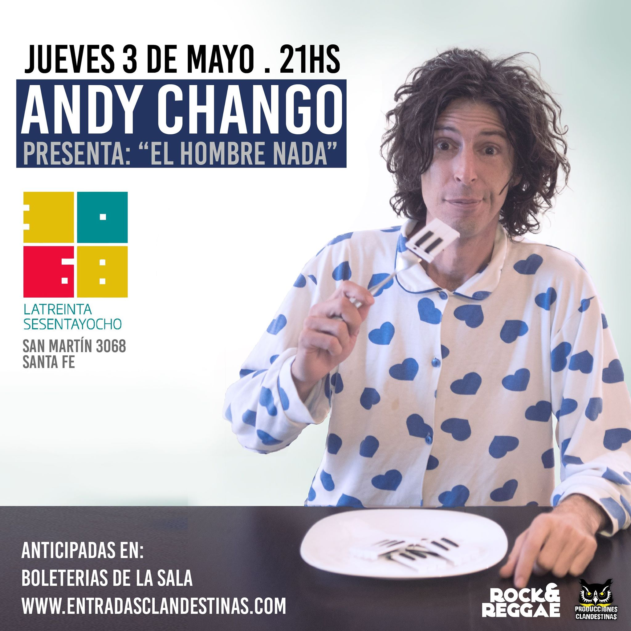 Andy Chango en Santa Fe