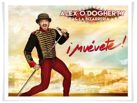 Alex O´Dogherty & La Bizarrería te invitan a bailar con su nuevo espectáculo 'Muévete' en Murcia, Huelva y San Fernando (Cádiz)