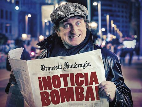 JAVIER GURRUCHAGA Y LA ORQUESTA MONDRAGÓN: NOTICIA BOMBA (2018)