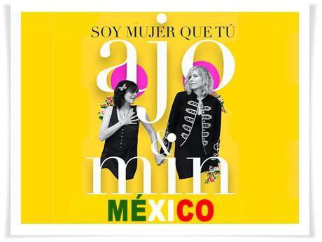 "¡ajo & min. estrenan ""Soy mujer que tú"" en México!"