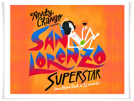"Andy Chango estrena su ópera rock ""San Lorenzo Superstar"""
