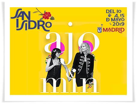 ajo & min. en las Fiestas de San Isidro de Madrid el 15 de mayo