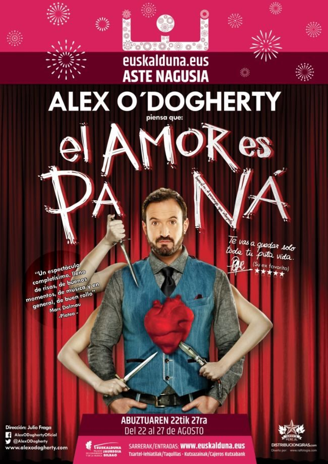 Alex O'Dogherty: El amor es pa ná