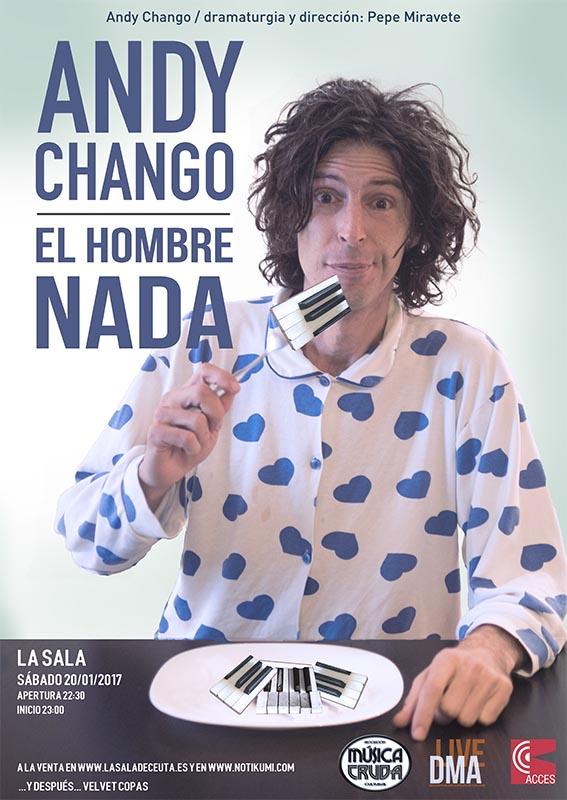 Andy Chango en Ceuta