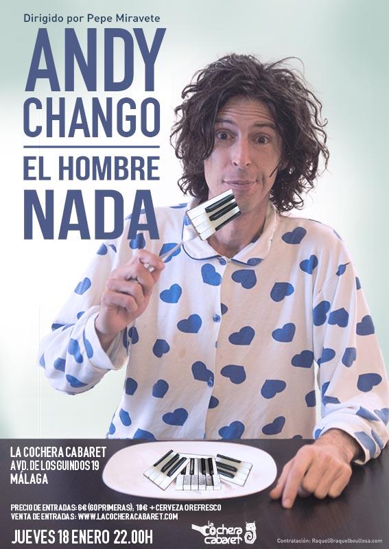 Andy Chango en Málaga
