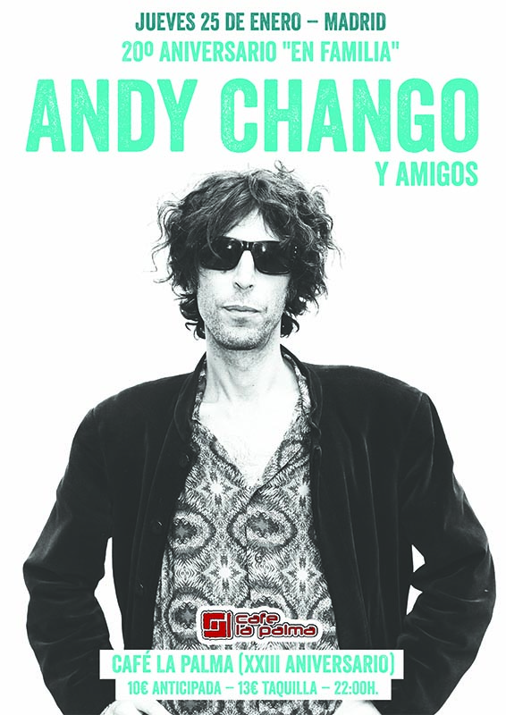 Andy Chango Café La Palma (Madrid)