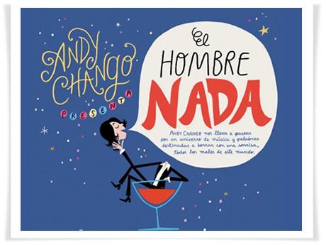 """Andy Chango con """"El hombre nada"""" en Zaragoza el 16 de febrero"""