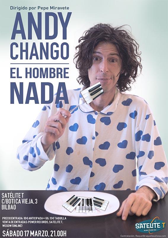 Andy Chango en Bilbao