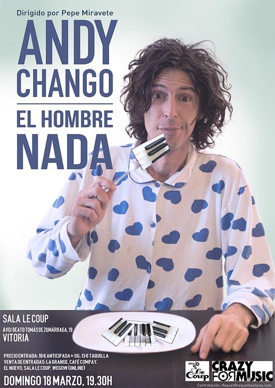 Andy Chango en Vitoria