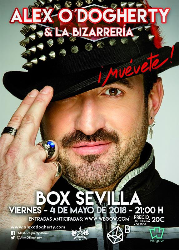 Alex O´Dogherty y la Bizarrería concierto Sevilla
