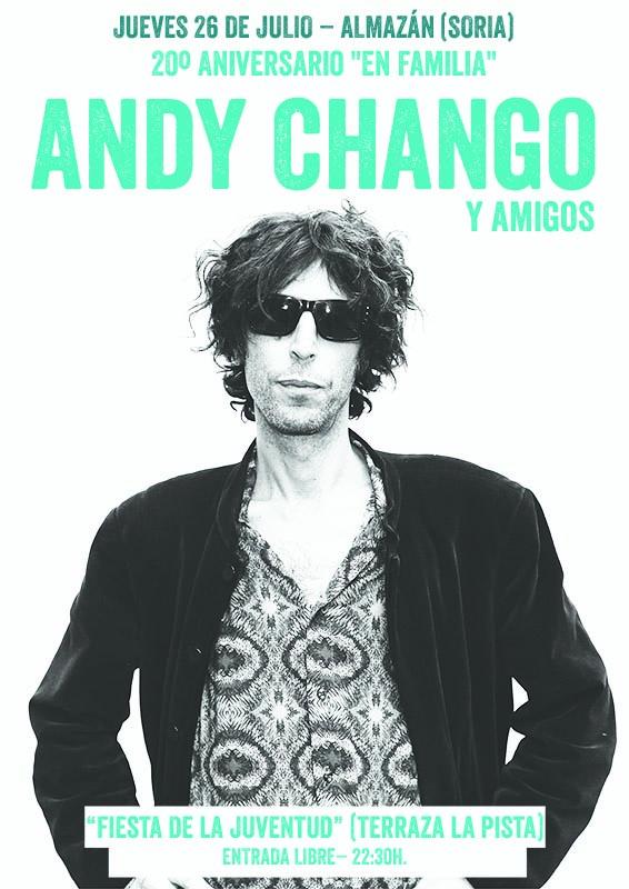 """Concierto: Andy Chango & amigos (20 aniversario """"En Familia"""")"""